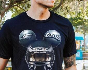 ddb6f8f9 2019 Personalized Philadelphia Eagles Football Disneyland Mens T-shirt