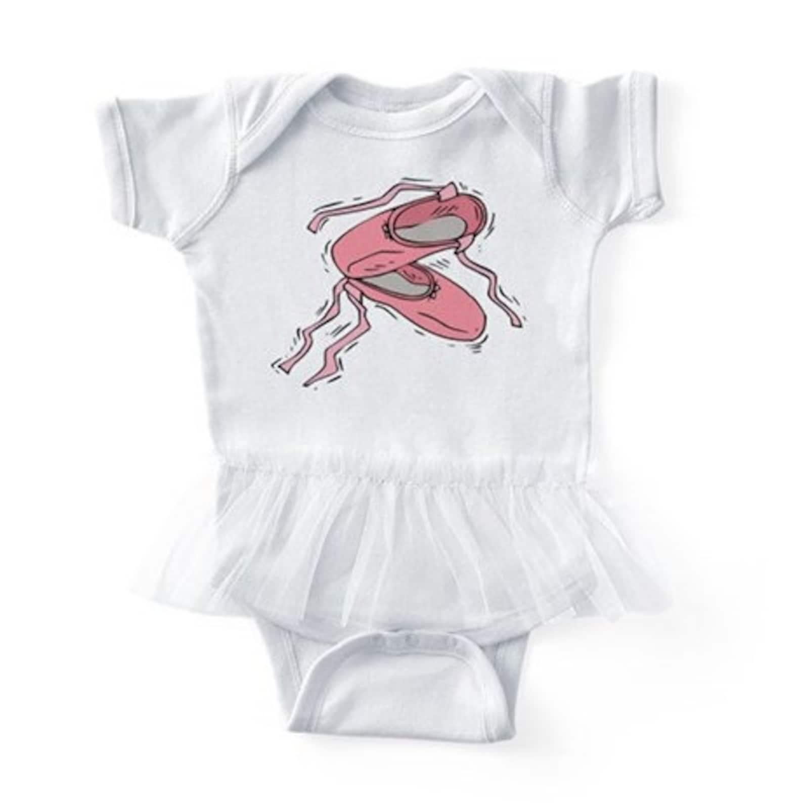 ballet shoes #2 infant tutu bodysuit
