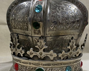Vintage Zimbalist Crown Thorens Movement Music Box