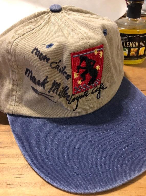 Chef MARK MILLER Coyote Cafe Restaurant Cap Signed