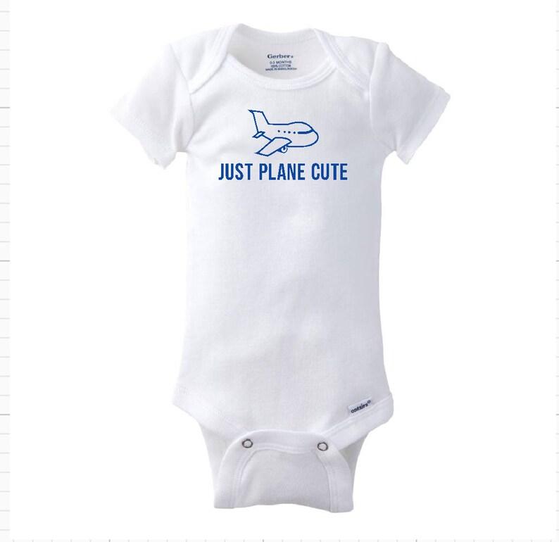 Whaley Cute Just Plane Cute or Berry Cute Bodysuit