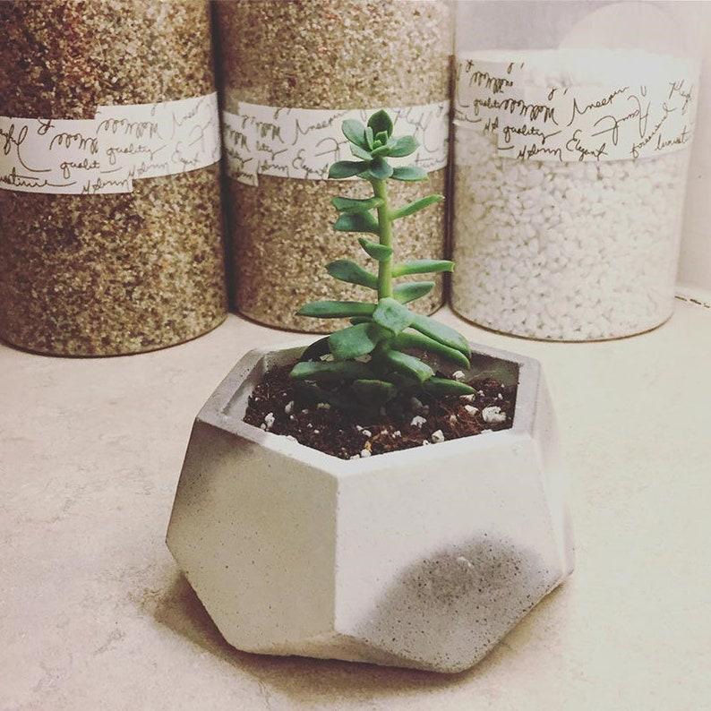 Concrete Flower Pot Molds Silicone Planter Pot Molds Succulent Plants Pot Silicone Molds