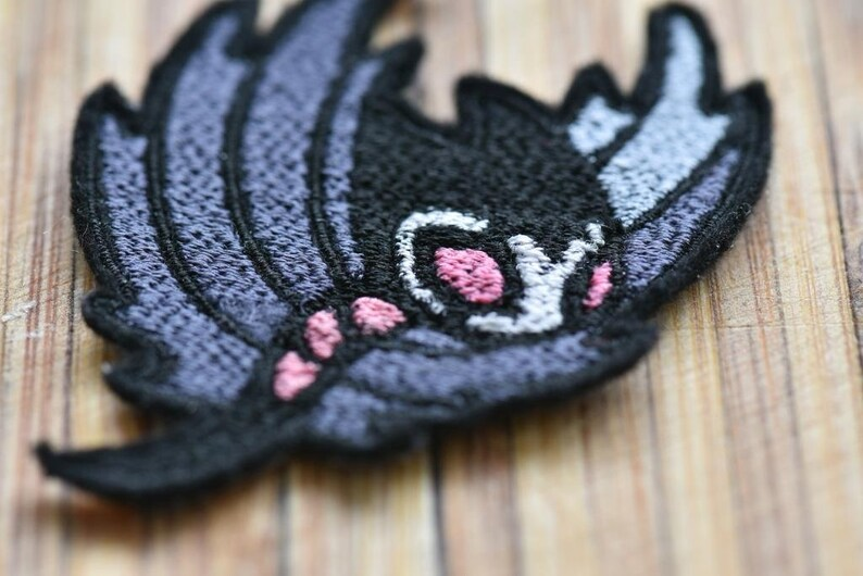 Hollow Knight Grimmchild Embroidered Patch