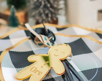 Gingerbread Ornament Gingerbread Placecard / 2020