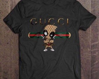 0dd658a2765 New Fashion Design Gucci Deadpool High Quality 100% Cotton Men s T-Shirt Tee
