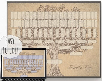 Family tree | Etsy