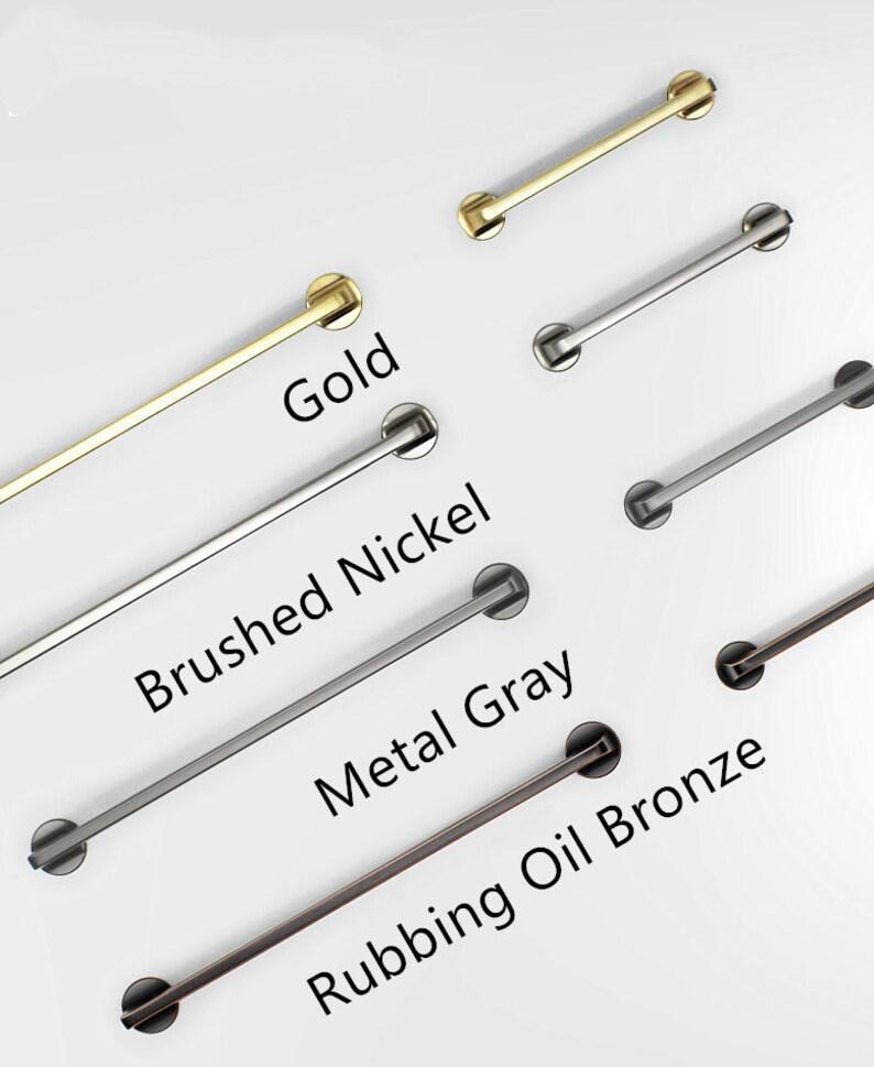 Modern Household Office Handles knobs Gold Drawer Pulls Knob image 0