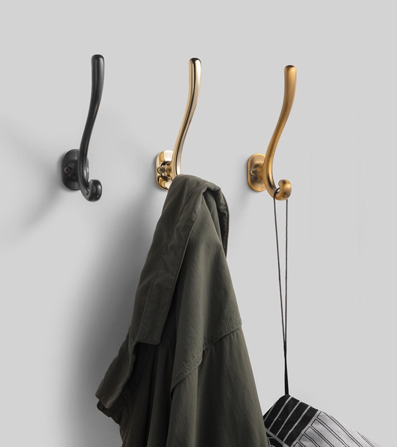 Refinement Metal Hooks Coat Hook Decorative Wall Hooks Coat image 0