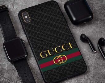 4f57a3cc8 Inspired by Gucci Logo Gold Case iPhone XS Max Xr Xs X 8/8+ 7/7 Plus 6S+  Case Samsung S10/S10+ S9/S9+ S8+ Note 9 8 Phone Case