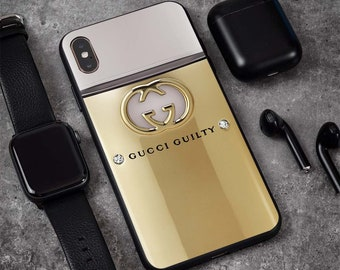 752454f2f Inspired by Gucci Guilty Fashion Case iPhone XS Max Xr Xs X 8/8+ 7/7 Plus  6S+ Case Samsung S10/S10+ S9/S9+ S8+ Note 9 8 Phone Case