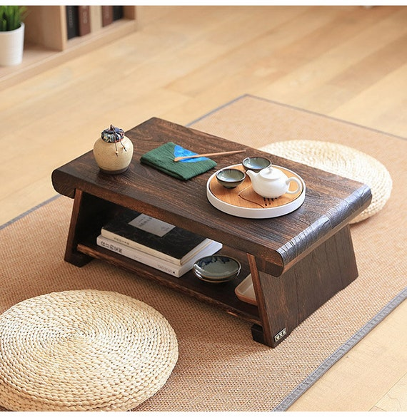 how to make an outdoor bamboo privacy screen woodworking.htm traditional japanese floor table coffee tea or end tables etsy  floor table coffee tea or end tables