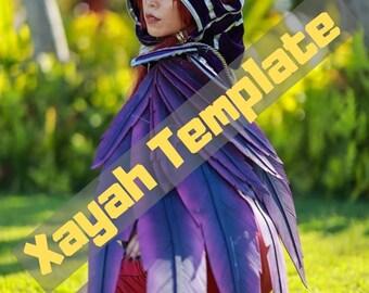 Xayah cosplay | Etsy