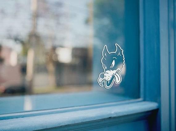 decal wolf vinyl car sticker window oracal 651 a1