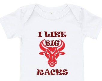 b21997185 I Like Big Racks Onesie