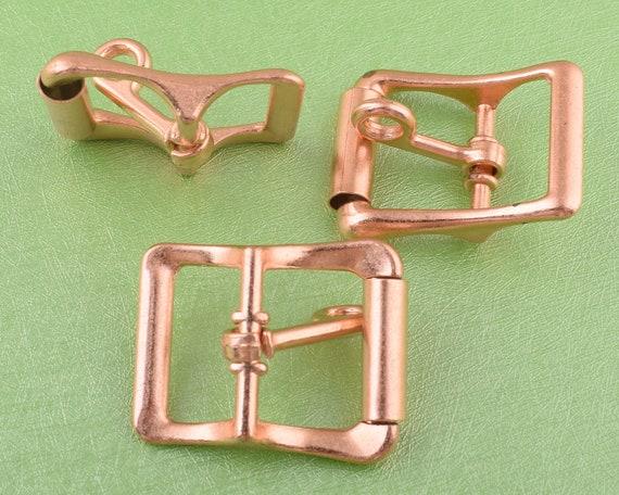 strap ring webbing buckle square buckle for belt strap buckles rose gold belt buckle small belt slide buckle