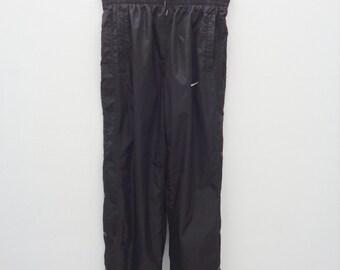 d531d7a83f6d9 NEW BALANCE Track Pants White Polyester Size L Vintage | Etsy