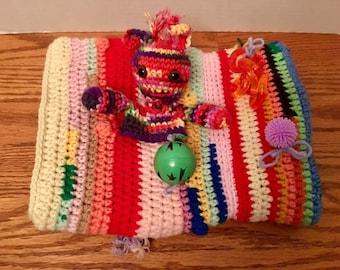 Crocheted Twiddle Muff