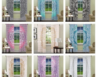 Excellent Indian Sheer Curtain Etsy Interior Design Ideas Inamawefileorg