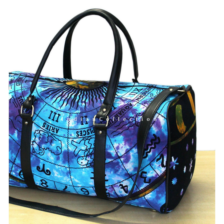 Unisex Travel Duffels Gym Bag Yin Yang Canvas Weekender Bag Shoulder Bag Totes bags
