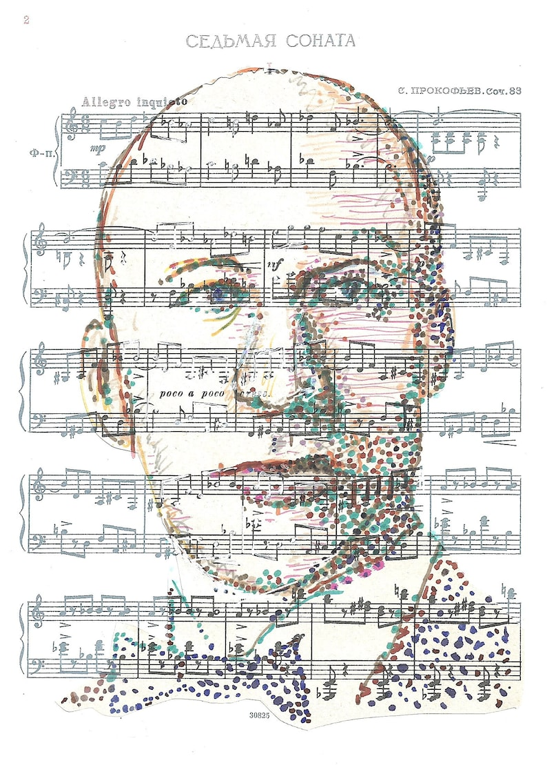 Sergei Prokofiev in his own tune major Russian composer of the 20th century famous for Peter and the Wolf Romeo and Juliet; Cinderella +