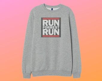 d17fcb70e8a forest gump run dmc tom hanks movie Sweatshirt Custom sweater Cotton Jumper  Top Retro Sweater Unisex