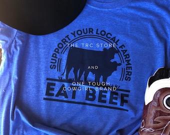 Lievon Eat Beef Photo License Plate
