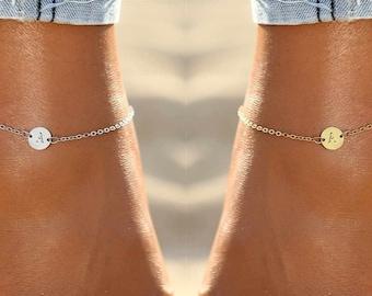 Boho Anklet Silver Anklet Satellite Bracelet ID307AB Sterling Silver Anklet Gold Anklet Anklet Bracelet Dainty Gold Bracelet