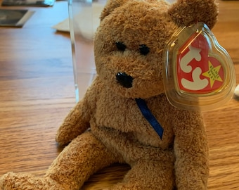 613abccc2a4 TY Beanie Baby Fuzz 1998 With Tag Errors