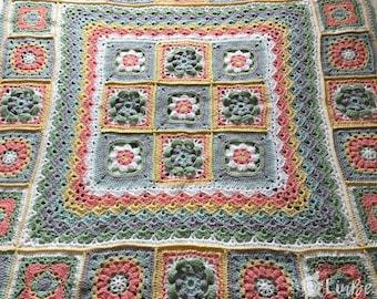 Moroccan Tile Lap Blanket
