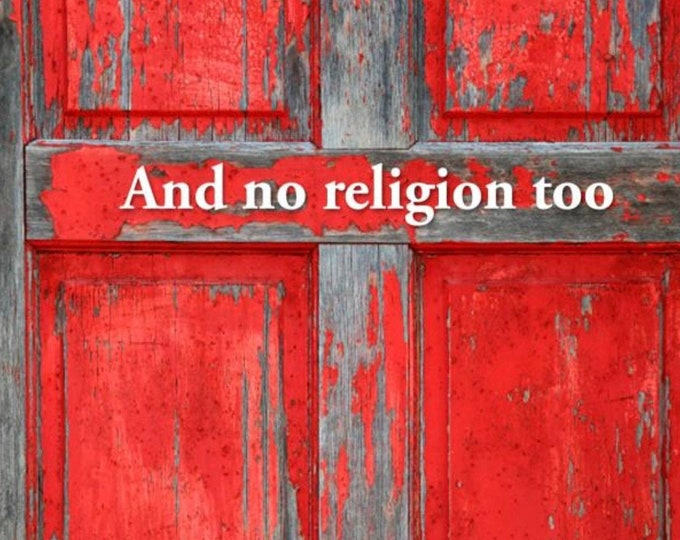 And No Religion, Too is a group of essays about faith, simplicity, and life in the kingdom of God from a (sometimes) humorous perspective.