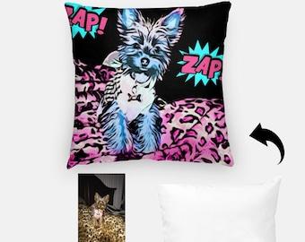 Comic kapow Printed Fabric Panel Make A Cushion Upholstery Craft