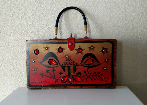 Enid Collins Americana Box Purse From 1966