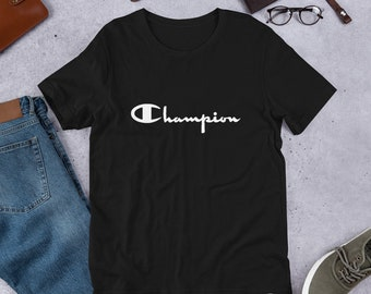 4619dda920ee Vintage Champion t-shirt - Champion t-shirt Short-Sleeve Unisex T-Shirt