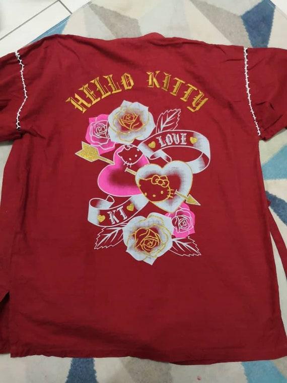 Kimono Hanten Embroidered Hello Kitty
