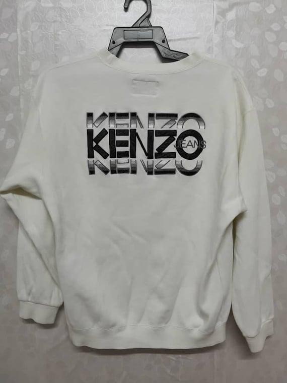 Kenzo Jeans Embroidered Sweatshirt