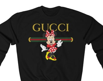 bc7d2b850 mini mouse inspired by Gucci Parody Funny Graphic Sweatshirt