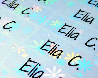 Back to School Specials Frozen Vinyl Personalised Name Label Sticker