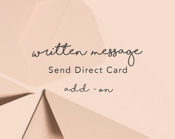 Printed Message Inside Your Card   Send Direct Card  Post it for Me   Add personalised printed message inside your card