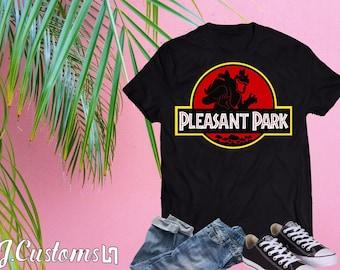 Fortnite x Jurassic Pleasant park Short-Sleeve Unisex T-Shirt c1c5dff4a89e0