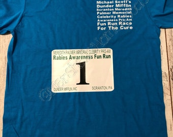 The Office Michael Scott/'s Fun Run Race For The Cure Adult T Shirt