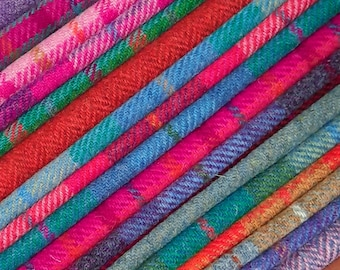 Harris Tweed FABRIC and Fabric To Fit LAMPSHADE KITS Free Label Included Wool Clot Metre Yard