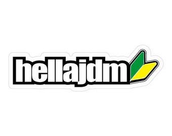 Hella Kawaii JDM Holographic Decal