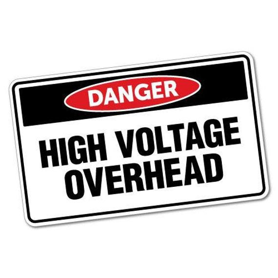 Warning Poison Sticker Warning Safety Precaution Sign Decal Sticker Vinyl Funny