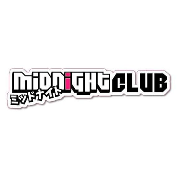NEVERCLUB Japanese Decal JDM KDM Drift Honda Subaru Mitsubishi Acura Toyota