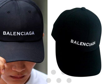 Balenciaga Embroidered Cap 759540c9ae34