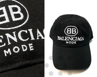 Balenciaga Mode Embroidered Cap 618f7925e427