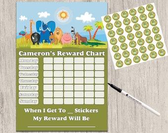 Reusable policeman  Potty Toilet training Reward Chart Stickers pen MAGNETIC