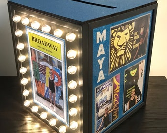 Anniversary Birthday Sweet Sixteen and more ~ Personalized for You! BROADWAY Light Up Marquee for SIGN On BOARD  Wedding Bar Bat Mitzvah