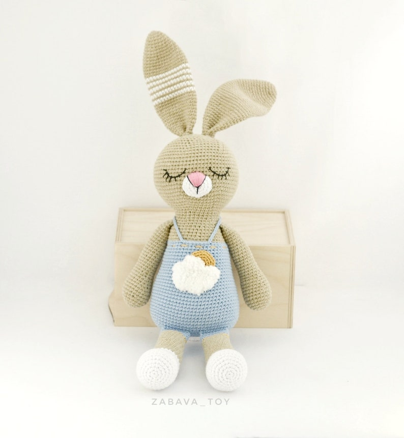Bunny Amigurumi Crochet Tutorial - YouTube | 861x794