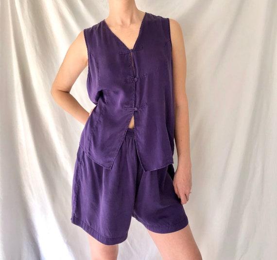 Vintage Silk Victoria's Secret Gold Label Pajama S